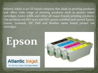 Original Compatible Epson Inkjet Cartridges