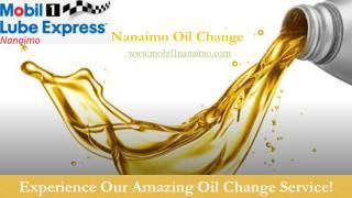 Nanaimo oil change