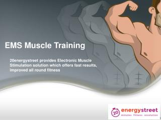 You can now find & book EMS Muscle Training  Session directly From Our App