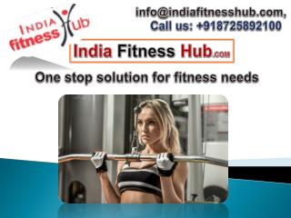 Find exclusive products in online fitness store