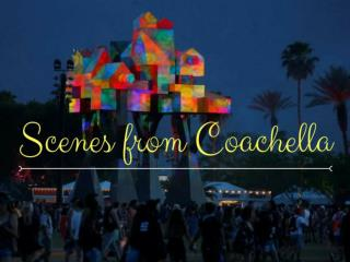 Scenes from Coachella
