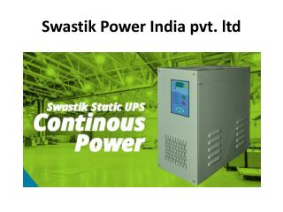 Battery Charger Manufacturers in Maharashtra | Swastik Power India