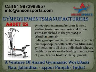 Dumbbells Manufacturers in India Delivers All Sorts of Dumbbells