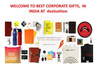 WELCOME TO BEST CORPORATE GIFTS,  IN INDIA at dealsothon