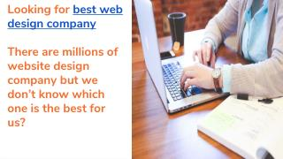 Best web design company|Professional website designing