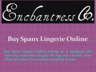 Buy Spanx Lingerie Online