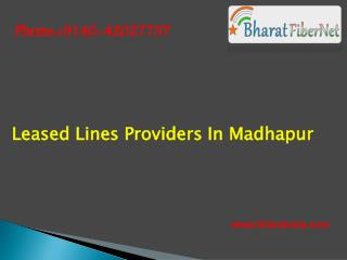 Leased line service provider in madhapur
