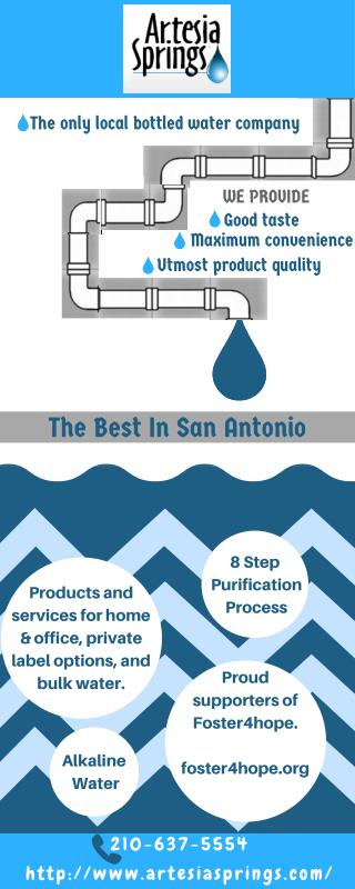Ensure Quality Water with Local Bottled Water Company in San Antonio