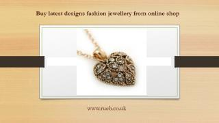 Buy latest designs fashion jewellery from online shop