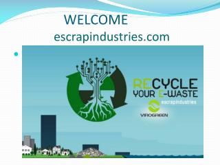 e scrap industries in india