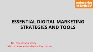 ESSENTIAL DIGITAL MARKETING STRATEGIES AND TOOLS TO MAKE USE OF IN 2016