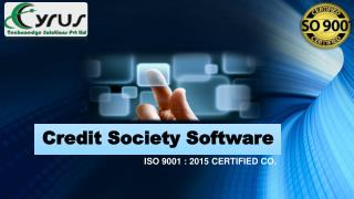 Buy the best Credit Society Software