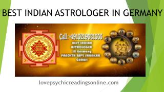 Indian Vedic Astrologer In North Rhine-Westphalia, Nordrhein Westfalen, Germany, Berlin, Hamburg, Bavaria, Saxony, Hesse