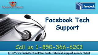 What are the merits of Facebook Tech Support 1-850-366-6203?