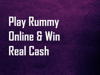 Play rummy online and win real cash