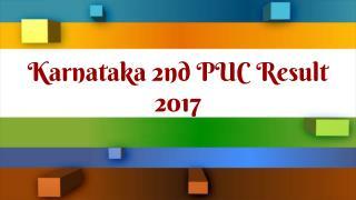 How To Check Karnataka 2nd PUC Result 2017?