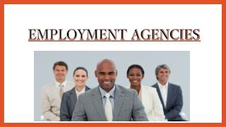 Employment Agencies - equityinsights.co.za