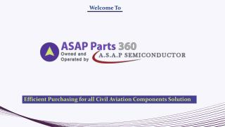 Asap parts 360 - Civil Aviation Components Supplier