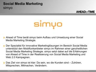 simyo - Social Media Marketing