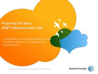 Preparing for Sales:  AT&T's Business Sales LDP