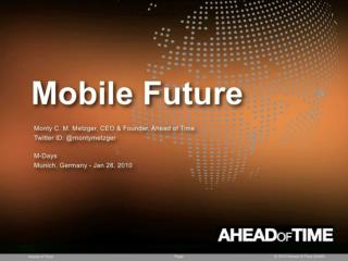 Trend Presentation: Mobile Future 2020