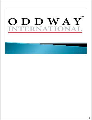OddwayInternational : Indian Generic Medicine supplier.