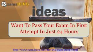 Free 210-255 Practice Test Questions (PDF & Engine)
