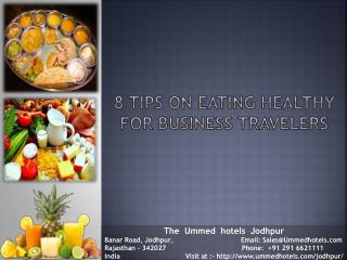 8 Tips on Eating Healthy for Business Travelers