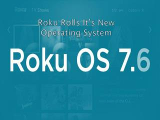 Roku Introduced It's New OS