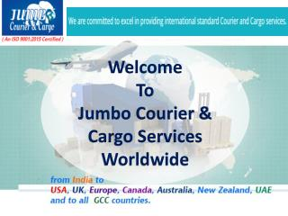 Welcome To Jumbo Courier & Cargo Services Worldwide