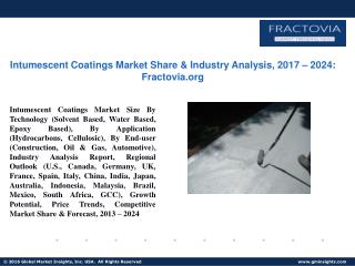 PPT for Intumescent Coatings Market Share