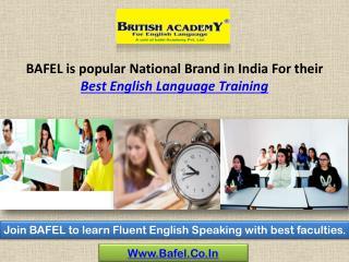 English Speaking Course - BAFEL