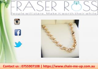 Buy Gold Chains For Men & Women
