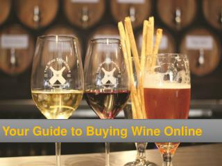 Your Guide to Buying Wine Online