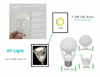 MCOB technology for LED light sources