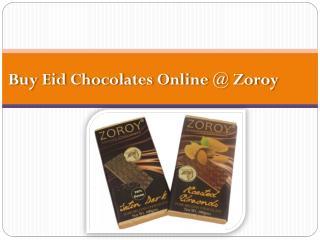Buy Best Chocolates for Ramazan @ Zoroy
