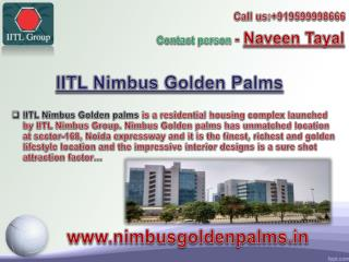 Nimbus Golden palm floor plan