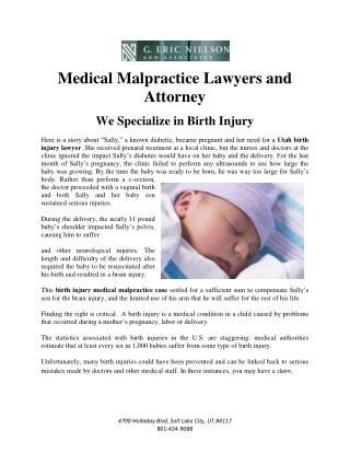 Medical Malpractice Lawyers and Attorney