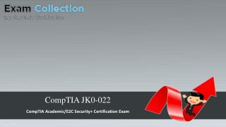 Examcollection CompTIA Jk0-022 Exam VCE