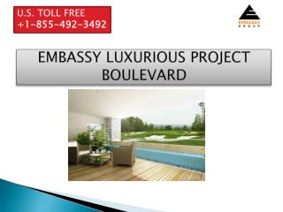 embassy boulevard villa price