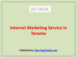 AG7 Media-Internet Marketing Service in Toronto