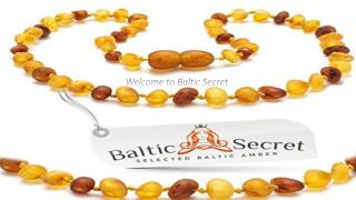 Baltic Amber For Teething
