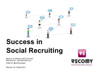 Success in Social Recruiting