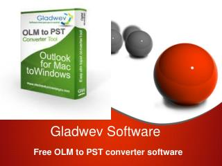 Free OLM to PST converter software