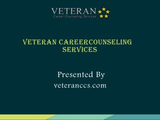 Veteran Career Counseling Services