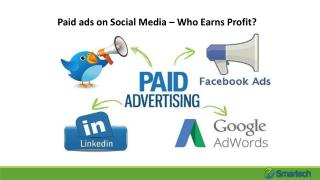 Paid ads on Social Media – Who Earns Profit?