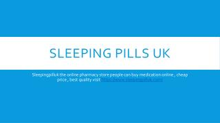 Buy Sleeping Pills UK Without Prescription
