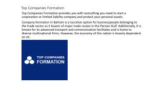 Top Companies Formation