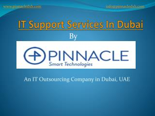 IT Support Dubai, IT Outsourcing Company Dubai