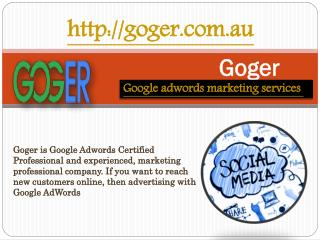 Online Advertising with Google